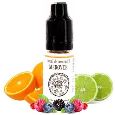 6404 - Άρωμα 814 MEROVEE 10ml (πορτοκάλι,πράσινο λεόνι και φρούτα του δράκου)