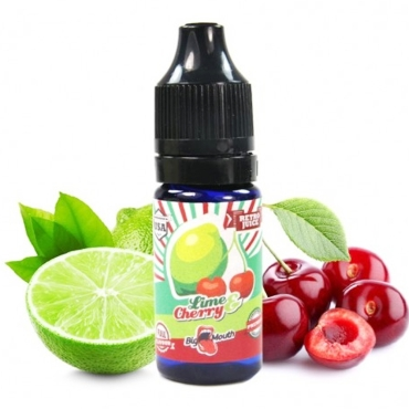 4739 - Άρωμα BIG MOUTH LIQUIDS JUICES RETRO Lime & Cherry 10ml (λάιμ κεράσι)