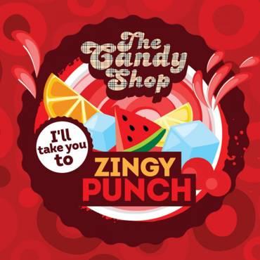 5560 - Άρωμα BIG MOUTH LIQUIDS THE CANDY SHOP Zingy Punch 10ml (κοκτέιλ φρούτων με δυόσμο)
