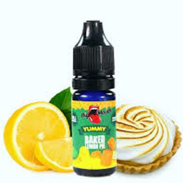 6109 - Άρωμα BIG MOUTH LIQUIDS YUMMY Baked Lemon Pie 10ml (λεμονόπιτα με απαλό άρωμα μήλου)