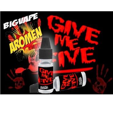 5054 - Άρωμα Big Vape GIVE ME FIVE 10ml (βατόμουρο λεμονάδα)
