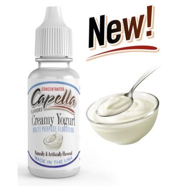 4832 - Άρωμα Capella Creamy Yogurt 13ml (γιαούρτι κρέμα)
