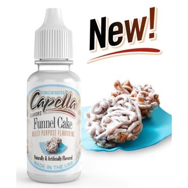 4839 - Άρωμα Capella Funnel Cake 13ml (Funnel κέικ)