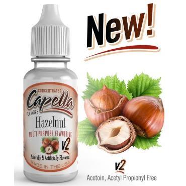 5230 - Άρωμα Capella Hazelnut V2 Flavor Concentrate 13ml (φουντούκι)