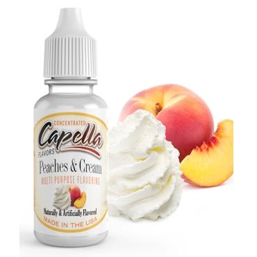 4856 - Άρωμα Capella Peaches and Cream 13ml (ροδάκινο & κρέμα)