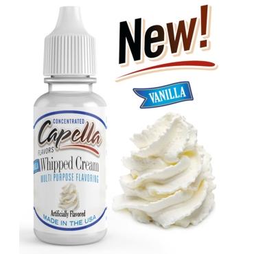 4874 - Άρωμα Capella Vanilla Whipped Cream 13ml (βανίλια σαντιγί)