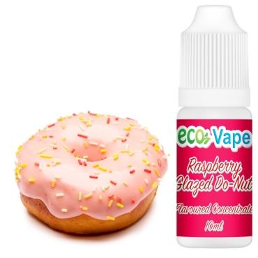 4757 - Άρωμα Eco Vape RASPBERRY GLAZE 10ml (ντόνατς βατόμουρο κρέμα)
