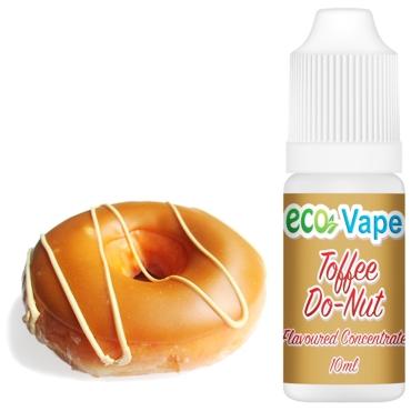 4519 - Άρωμα Eco Vape Toffee Do-Nut 10ml (καραμελένιο ντόνατ)