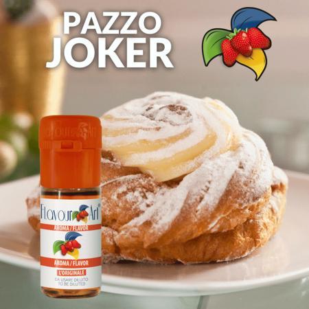 9144 - Άρωμα Flavour Art PAZZO JOKER (ντόνατς με κρέμα) 10ml