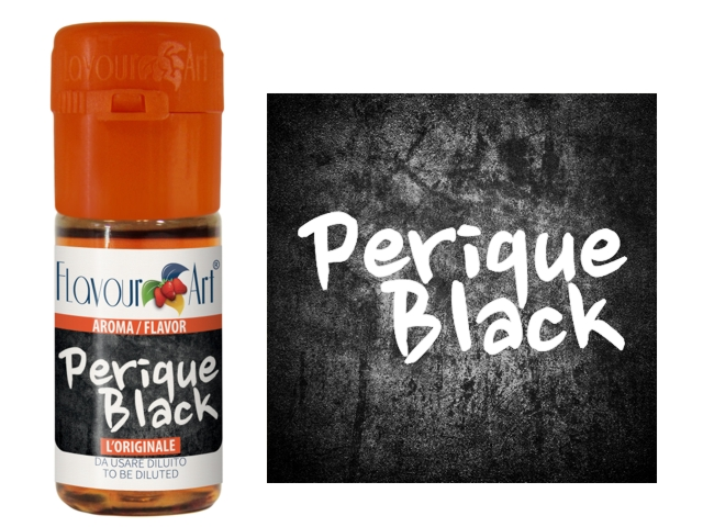 3507 - Άρωμα Flavour Art PERIQUE BLACK (καπνικό) 10ml