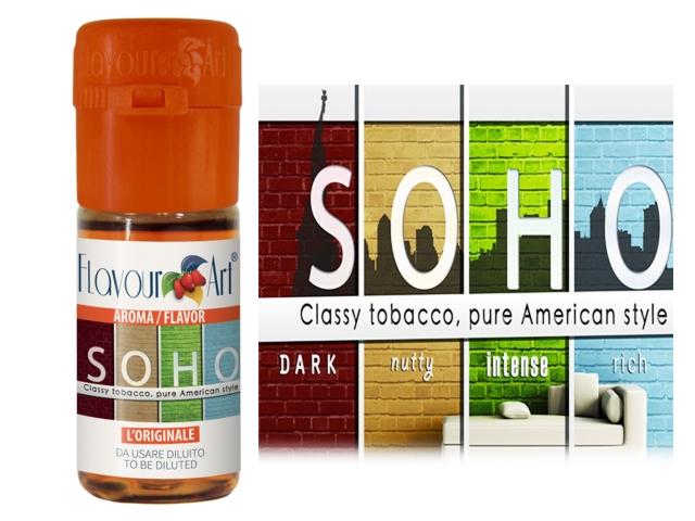 Άρωμα Flavour Art SOHO (καπνικό) 10ml