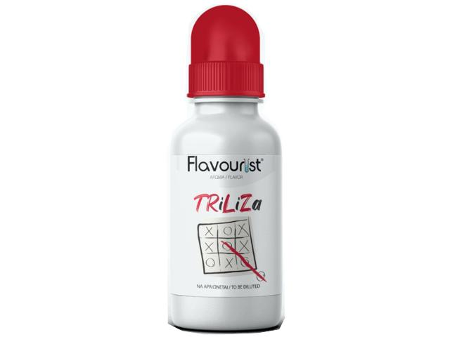 10797 - Άρωμα FLAVOURIST TRILIZA 15ml (ήπιο καπνικό με καραμελωμένο καλαμπόκι)