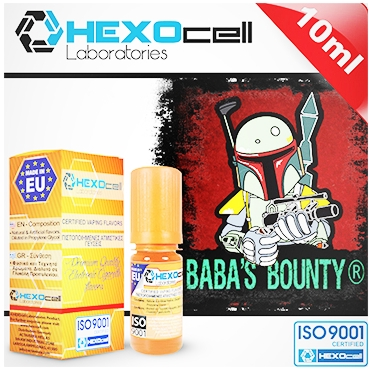 4173 - Άρωμα Hexocell BABAS BOUNTY FLAVOUR (καρύδα κρέμα βανίλια) 10ml