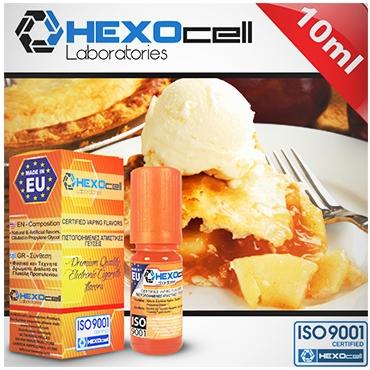 4723 - Άρωμα Hexocell FRENCH PERFECTION 10ml (μηλόπιτα και κρέμα)