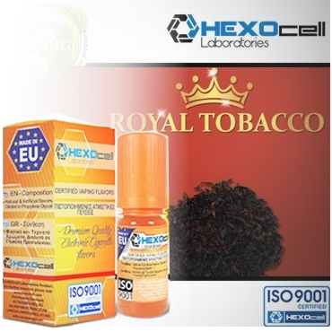 4366 - Άρωμα Hexocell ROYAL 10ml (καπνικό)