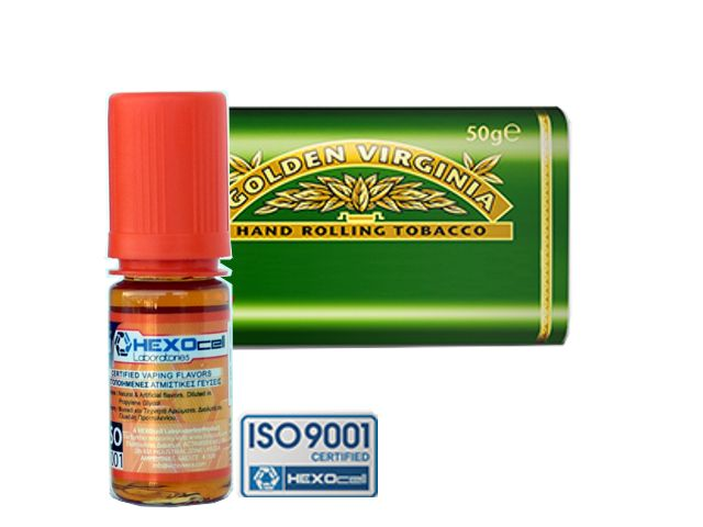 3729 - Άρωμα Hexocell VIRGINIA FLAVOUR (καπνικό) 10ml