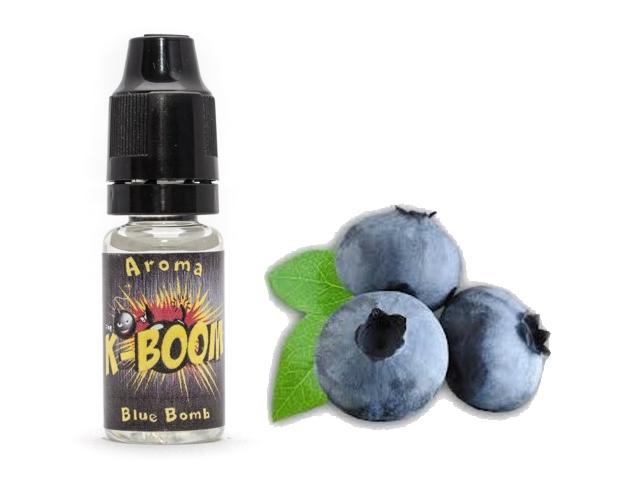 4125 - Άρωμα K-boom flavour BLUE BOMB 10ml (μύρτιλο)