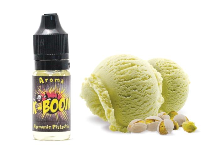 4129 - Άρωμα K-boom flavour HARMONIC PISTACHIO 10ml (παγωτό φυστίκι)