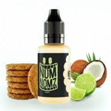 6643 - Άρωμα NOM NOMZ LIME BAKE 30ml (μπισκότο, καρύδα και λάιμ)