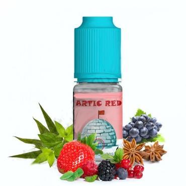 6696 - Άρωμα Nova ARTIC RED 10ml (κόκκινα φρούτα,μαύρα σταφύλια, μέντα και γλυκάνισο)