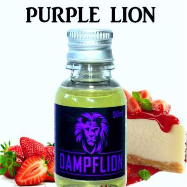 6232 - Άρωμα DAMPFLION PURPLE LION 20ml (τσιζκέικ φράουλα)