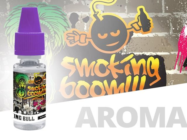 4586 - Άρωμα Smoking Bull SMOKING BOOM 10ml (κέικ λεμόνι)