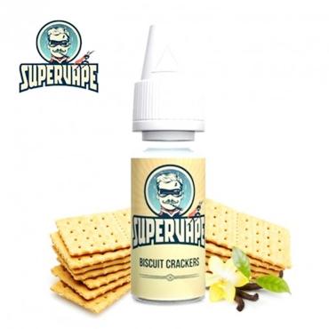 4208 - Άρωμα SuperVape BISCUIT CRACKER Flavour 10ml (μπισκότο)