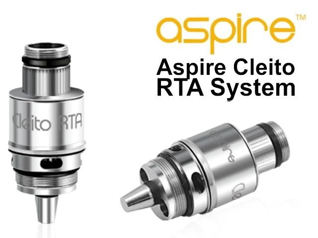 4394 - Aspire Cleito RTA System (επισκευάσιμη κεφαλή)
