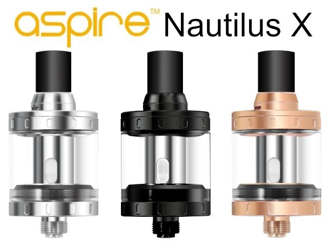 Aspire Nautilus X ατμοποιητής 2ml