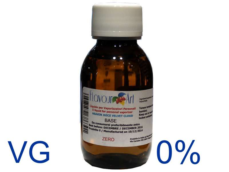 1606 - Ατμιστική φυτική βάση flavour art Velvet Cloud 0% νικοτίνη (VG) ποσότητα 100ml
