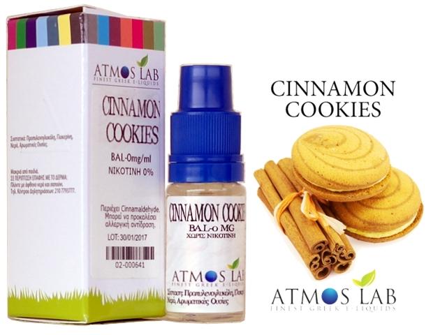3480 - Atmos Lab CINNAMON COOKIES (μπισκότο κανέλα) 10ml