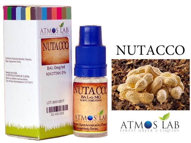 Atmos Lab NUTACCO (Καπνικό & Ξηροί καρποί) 10ml