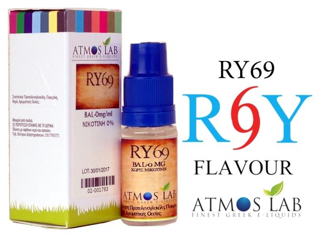 3001 - Atmos Lab RY69 (Καπνικό) 10ml