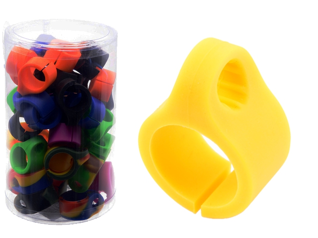 8690 - Atomic Silicone Cigarette Holder 0212774 (δαχτυλίδι για τσιγάρο) σε διάφορα χρώματα