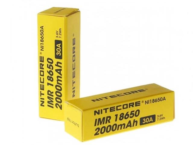 4179 - Αυθεντική 18650 IMR NITECORE 30A 2000mA