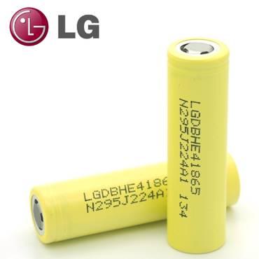 7632 - Αυθεντική 18650 LG HE4 2500mAh 35A μπαταρία