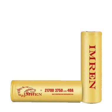 9225 - Αυθεντική μπαταρία IMREN 21700 3750mAh 40A