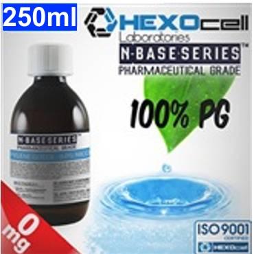 6457 - Βάση Hexocell nbase 100% PG, νικοτίνη 0%, 250ml