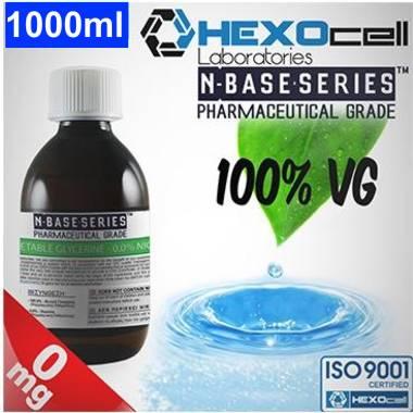 Βάση Hexocell nbase 100% VG, νικοτίνη 0%, 1000ml