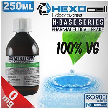 Βάση Hexocell nbase 100% VG, νικοτίνη 0%, 250ml