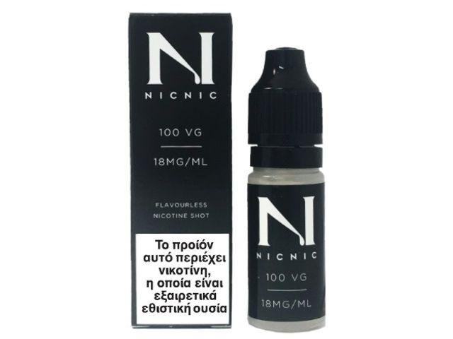 9181 - Βάση NICNIC 100%VG 18mg νικοτίνη 10ml
