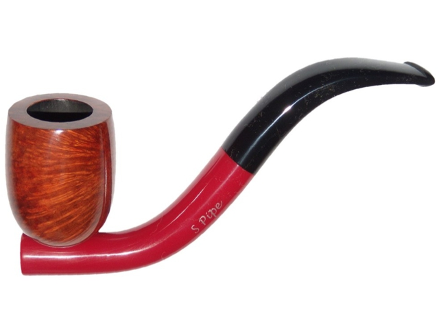 8315 - Butz Choquin BC S PIPE ROUGE 9mm ΠΙΠΑ ΚΑΠΝΟΥ ΚΥΡΤΗ
