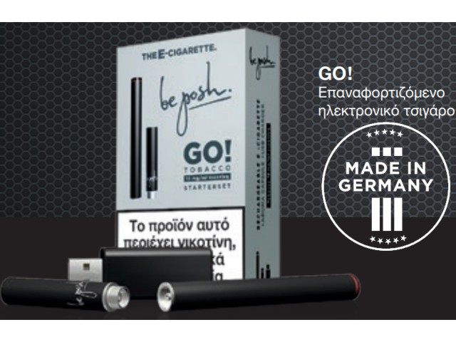 7116 - Be Posh Go Starter Kit Ηλεκτρονικό τσιγάρο