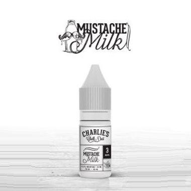 9670 - Charlies MUSTACHE MILK 10ml (γάλα και δημητριακά)