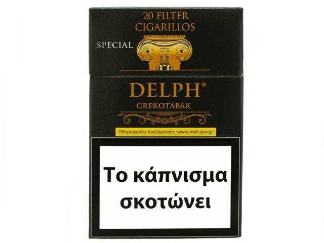 Cigarillos DELPH GREKOTABAK Special Filter 20