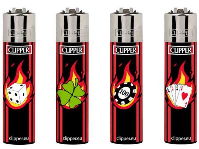 7036 - Clipper D24 CP11RH CASINO FIRE+LBASA 104352023 Large Αναπτήρας