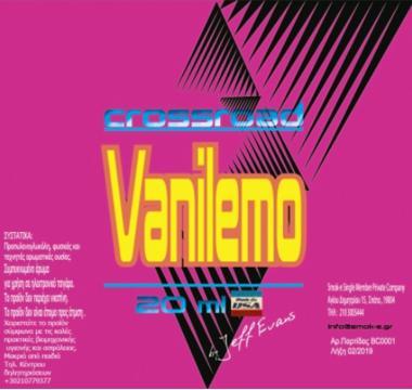 9462 - Crossroad Shake And Vape VANILEMO 20/60ml (μαρέγκα λεμονιού με κρέμα και καλαμπόκι) μίξη με VG