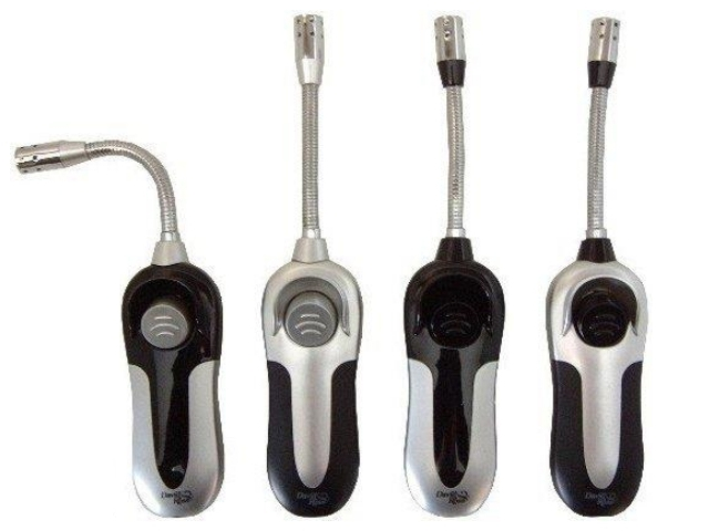 7310 - David Ross 2807 Metal gas Lighter Chic (198mm) αναπτήρας εύκαμπτος