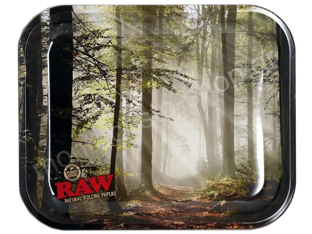 7837 - Δίσκος RAW FOREST METAL ROLLING TRAY LARGE 13584 ΔΙΣΚΟΣ ΓΙΑ ΣΤΡΙΦΤΟ