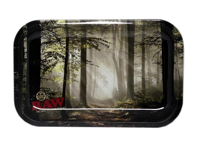 9739 - Δίσκος στριφτού RAW FOREST METAL ROLLING TRAY SMALL